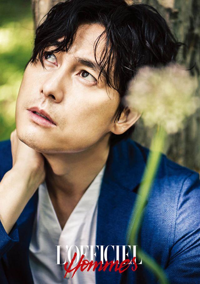 Jung Woo-sung // L'Officiel Hommes Korea // July 2013