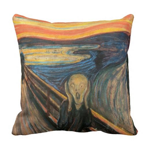 'The Scream' Cushions