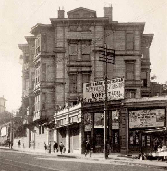 Gülhane'de Alemdar Sineması (1940'lar) İstanbul