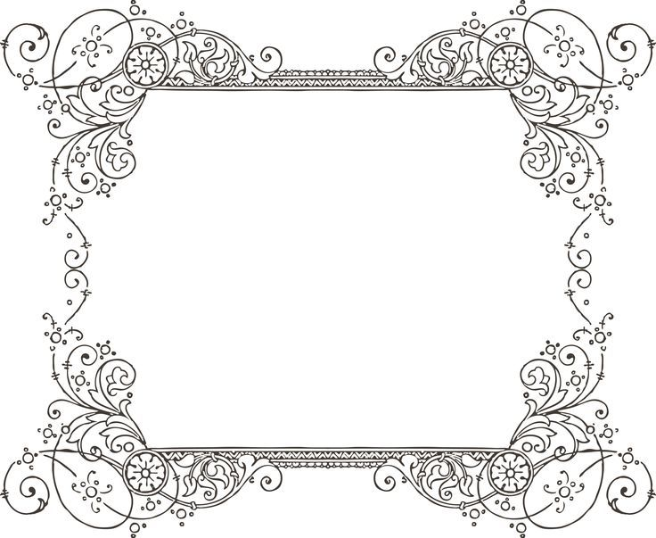 decorative backgrounds for word documents - Decorative Frames