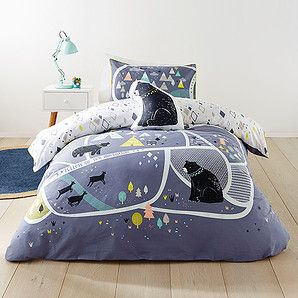 Fantastic bedspread solutions for your kids from Target!Consists of:1 x Quilt Cover Set1 x Pillowcase (SB)2 x Pillowcase (DB & QB)180 Thread Count