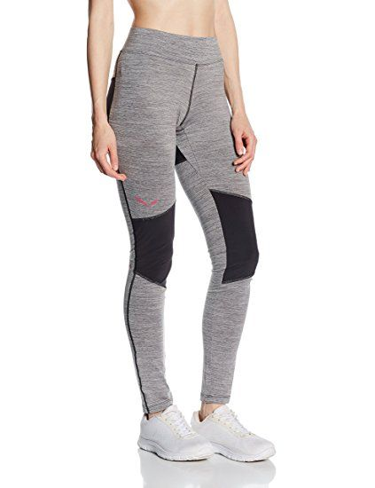 721177d323410e SALEWA Damen Sportleggings PEDROC DRY TIGHTS, magnet/0910, 36, 00-0000025435