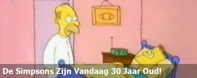 De Simpsons zijn vandaag 30 jaar oud! We kijken even naar de allereerste aflevering.