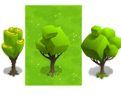 unusual cubic trees