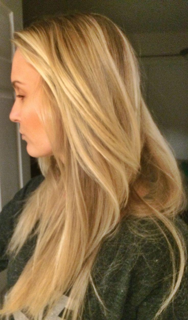 Long Blonde Hair Balayage Highlights Long Layers