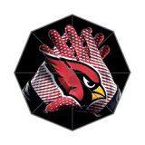 Custom NFL Arizona Cardinals Gloves Foldable Raining Umbrella Travel Anti uv Umbrella