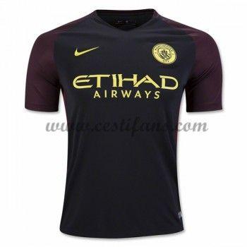 Manchester City Fotbalové Dresy 2016-17 Venkovní Dres