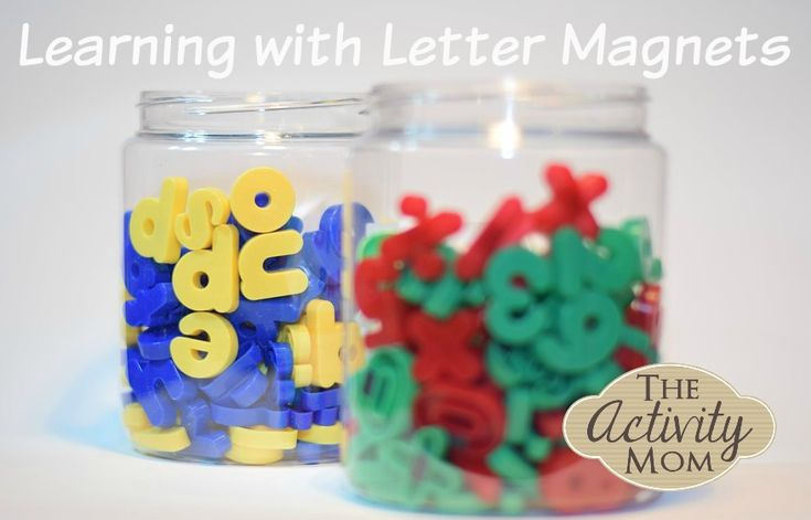 Learning with Magnetic Letters - Quick and easy DIY activities that your kids will LOVE!
