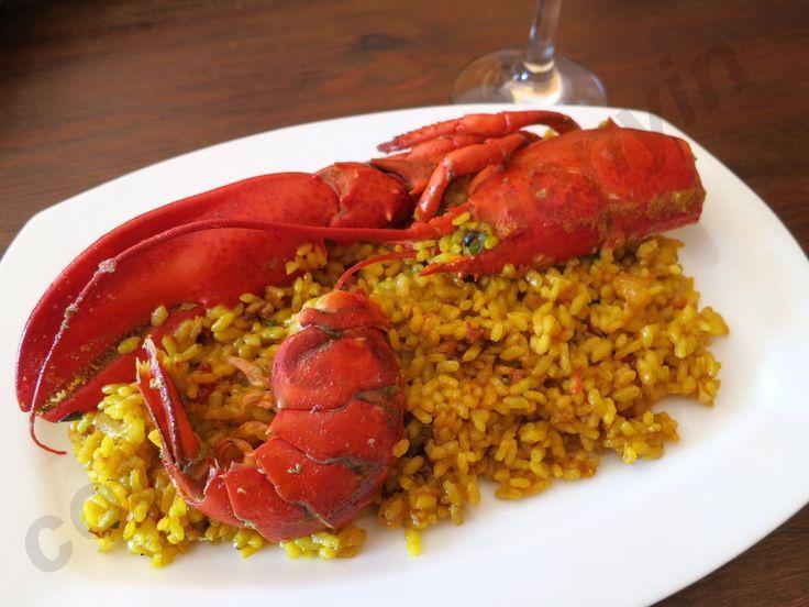 Arroz con bogavante al horno, ¡no vas a ensuciar nada!  #arrozconbogavante #arrozconbogavantealhorno #arrozalhornoconbogavante #recetasdearroz #platosdearroz