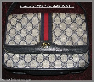 how to tell a genuine gucci purse