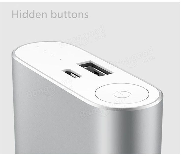 Original XIAOMI 5.1V 2.1A 10000mAh Power Bank For Smartphone Sale-Banggood.com