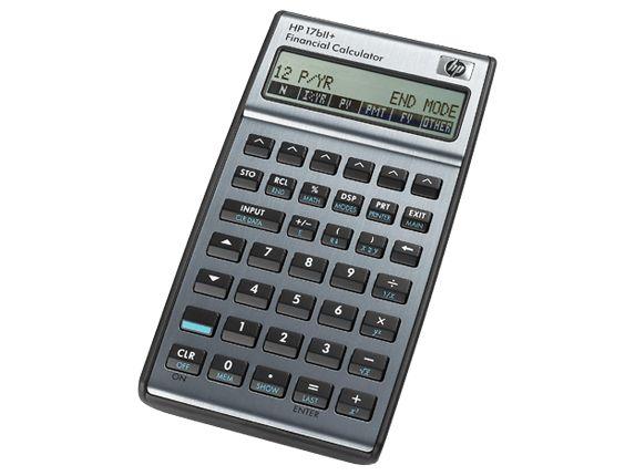 Comparacion de Calculadoras Financieras HP