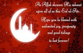 Eid Mubarak Status Msg in Hindi English Urdu for Whatsapp
