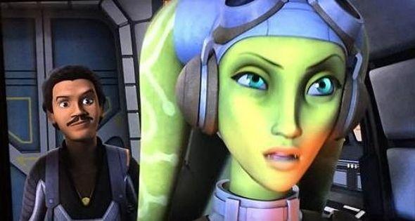 Lando Calrissian, con la voz de Billy Dee Williams, aparecerá en 'Star Wars: Rebels', la serie animada de Disney XD.