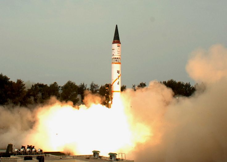 #India successfully test-fires #Agni-III #Ballistic Missile from Odisha Coast  India successfully carried out a fresh user trial of 3,000 kilometre range Agni-III ballistic missile from Abdul Kalam Island off the Odisha coast.    The Strategic Forces Command with logistics support from Defence Research Development Organisation (DRDO) carried out the test from the Integrated Test Range. The test was aimed at re-establishing the operational effectiveness of the weapon system.