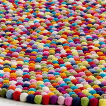 Tapis Pinocchio - multicolore - Hay - Tapis design pour chambre d'enfant - Les Enfants du Design