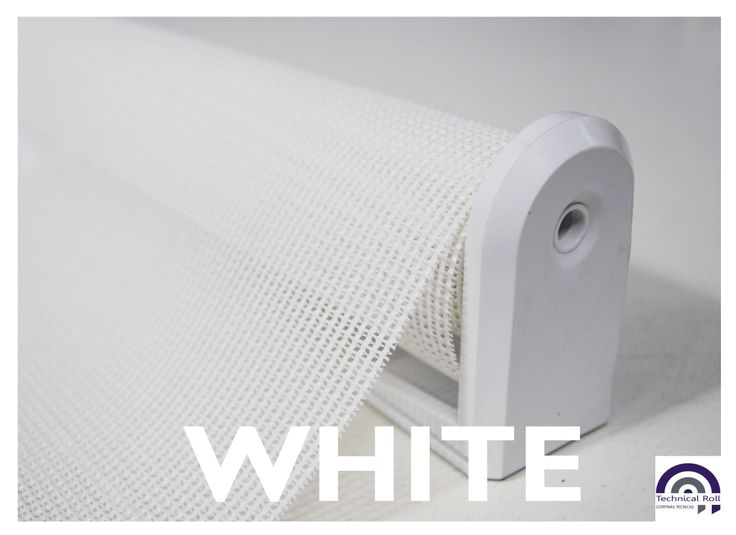 Linea exterior WHITE - Cortinas roller - Technical Roll.