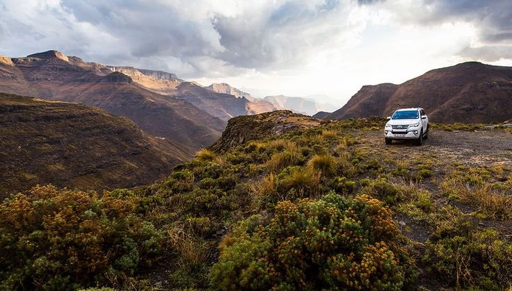 There's an off-the-beaten-track loop in Lesotho's grand north that combines the quiet isolation of the Maloti Mountains with some fun 4X4 driving.