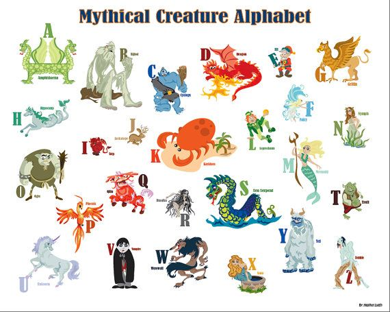 17 Best Ideas About Mythical Creatures List On Pinterest 570x455