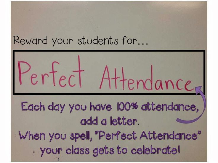 Attendance Motivation - The Organized Classroom Blog