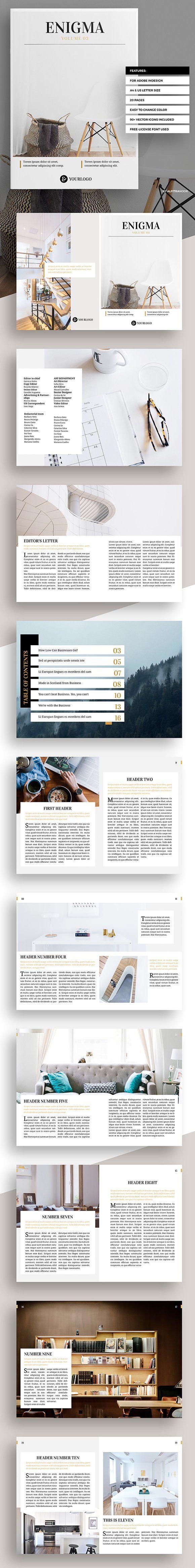Enigma Brochure @creativework247