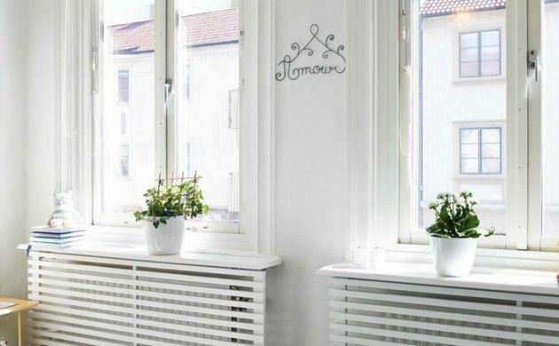 heizkörperverkleidung wohnzimmer kinderzimmer weiße holzgitter
