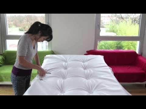 Cabeceira de cama com capitone #DIY • Oficina de Casa - YouTube