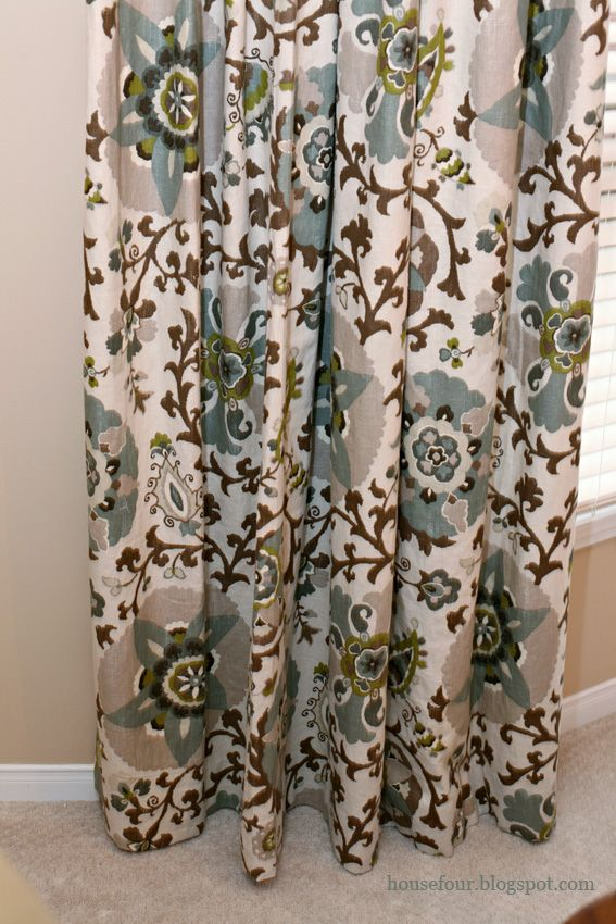 Dining Room Curtain Fabric Idea By Tonic Living
