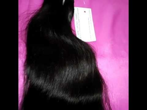 India Hair Machine Weft Weaving and Virgin Hair Extensions
