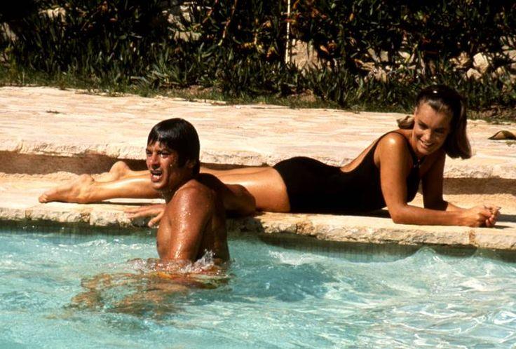 """La piscine""Jacques Deray Alain Delon & Romy Schneider Plus"
