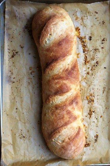 French Bread - crispy crust with a soft, tender crumb.