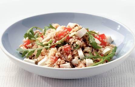 Lauwwarme #couscous #salade