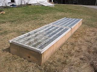 Window Frame Seedling Starter or Winter Garden