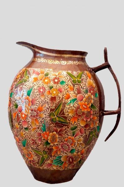Copper Jug Mexican art kuali