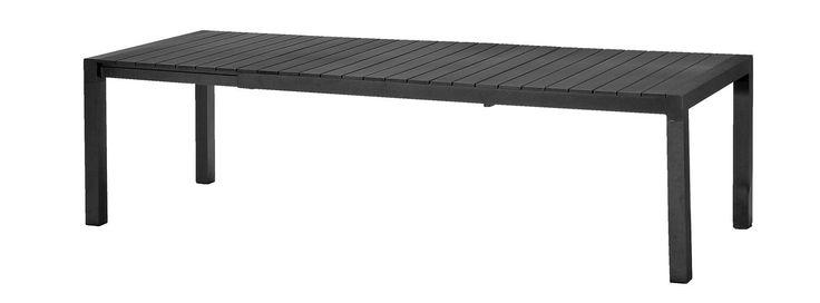 Bord SKAGEN 100x205/275cm konstträ/alu | JYSK