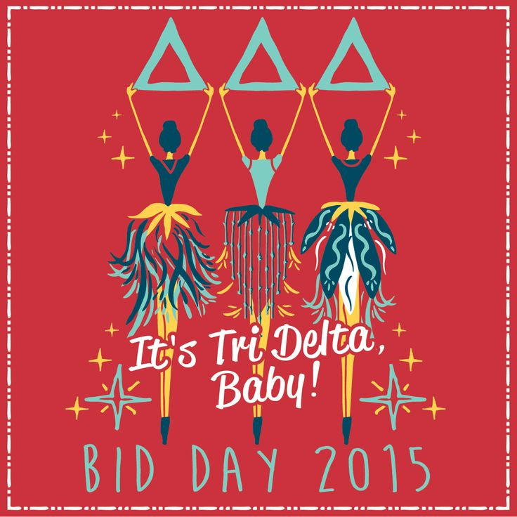 It's Tri Delta, baby! Geneologie | Greek Tee Shirts | Greek Tanks | Custom…