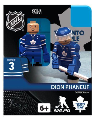 Dion Phaneuf Toronto Maple Leafs NHL Hockey OYO Mini Figure Lego Like G1 | eBay US $13.47 || Hmm ... Phaneuf looks uncannily similar to JVR ...