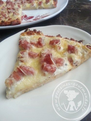 pizza 100% proteines