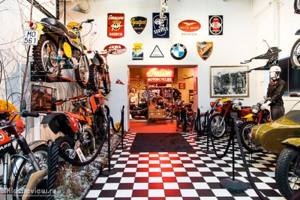 Photoreview of the Moto Museum in Lahti, Finland