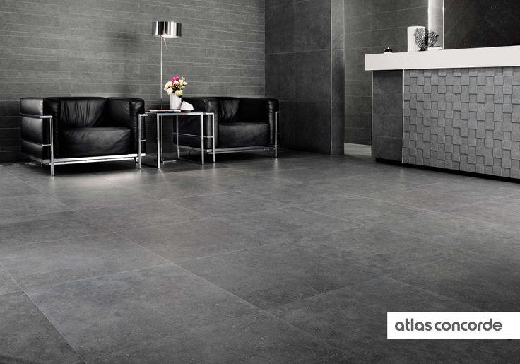 #SEASTONE gray | #AtlasConcorde | #Tiles | #Ceramic | #PorcelainTiles
