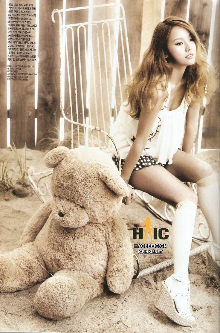 Lee Hyori for CeCi Korea's June Issue.