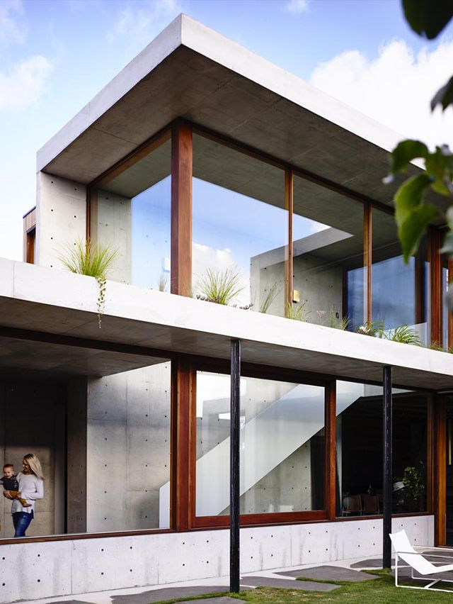 The Design Chaser: Torquay Concrete House by Auhaus Architecture