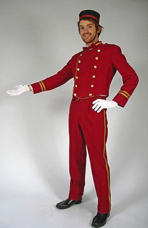The butler costume could be made from a tuxedo pattern. Description from hauntforum.com. I searched for this on bing.com/images