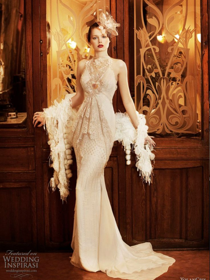 1920 39 S Style Wedding Dress Gatsby Wedding Glam Pinterest Gatsby 1920 Dresses And 20s Wedding
