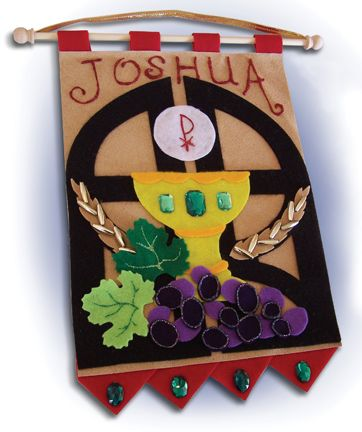First Communion Banners Examples | First Communion Banner Examples. This is definitely the time of year ...