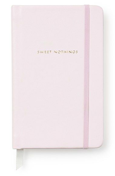 "Kate Spade ""sweet nothings"" notebook"