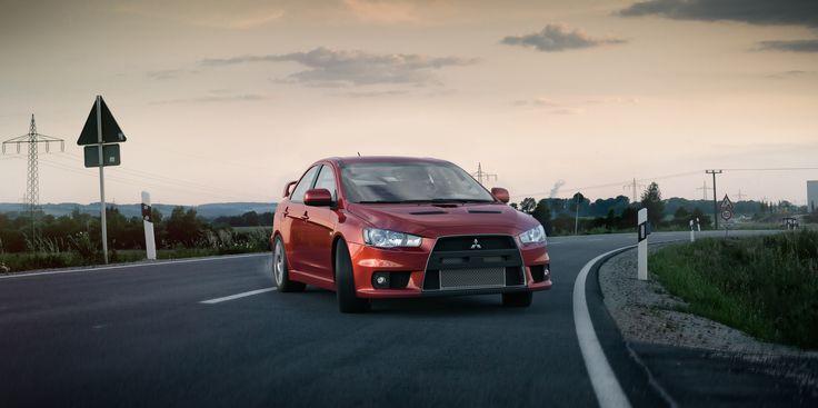 Mitsubishi Evo / CGI render / 3d render / fast car / sports car