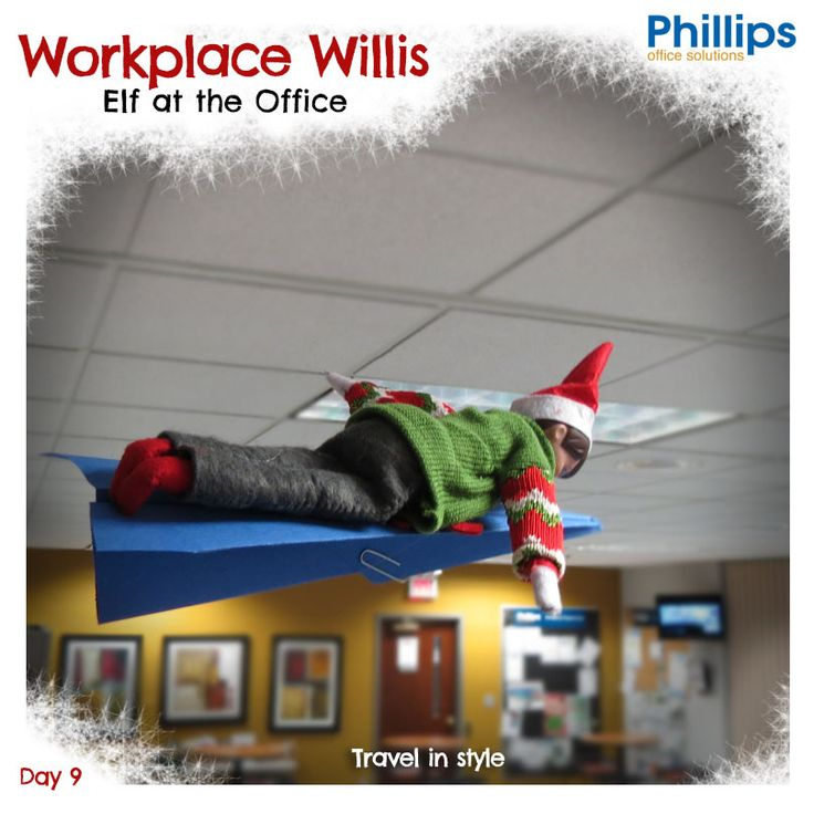 15 best Elf at the Office! images on Pinterest | The ...