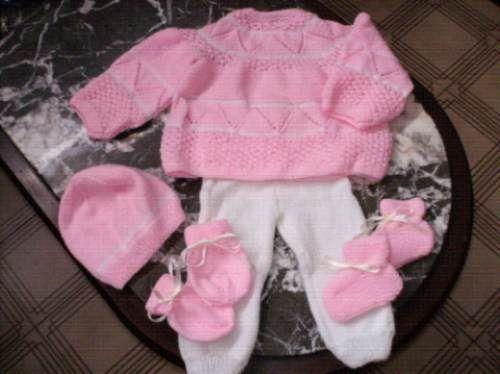 Vestidos tejidos para recien nacidos mercadolibre
