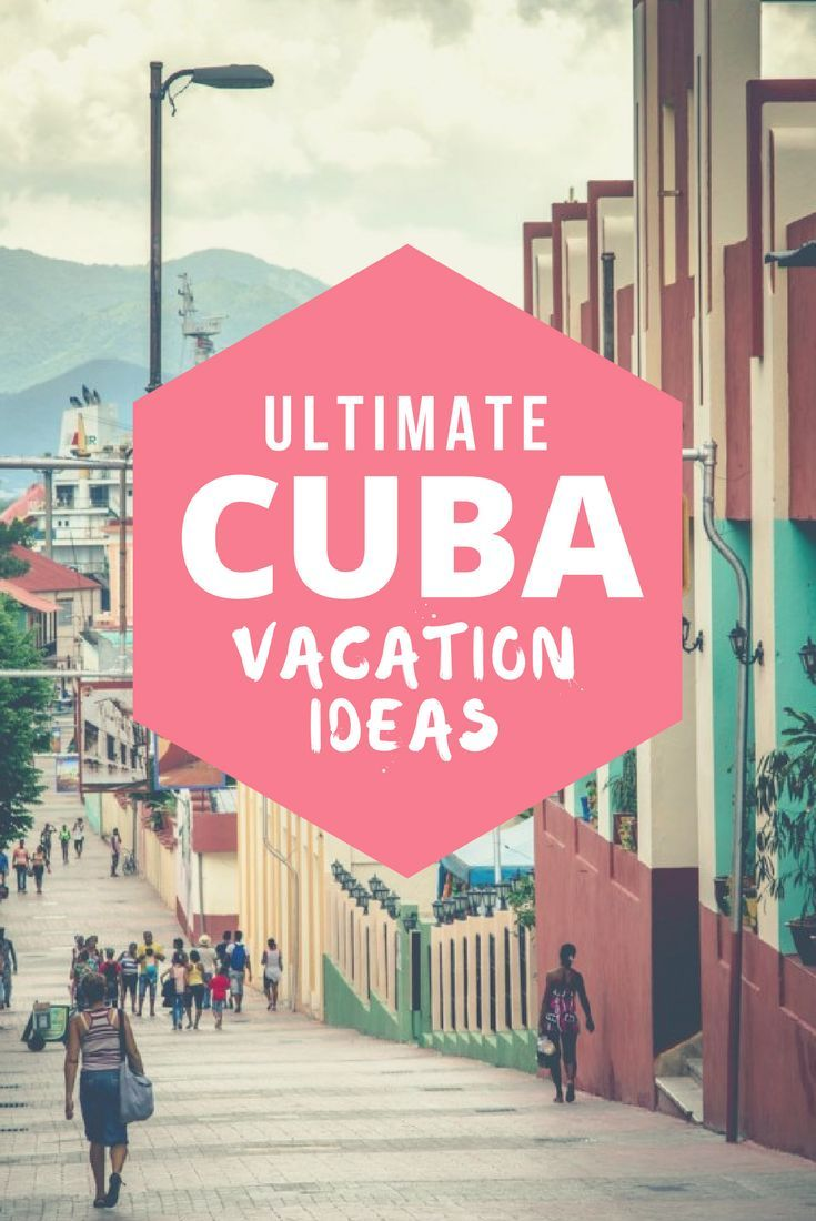 A vacation guide to Cuba. What to do in Cuba, 1, 2, 3 and 4-week itinerary to Cuba including visits to Havana, Varadero, and Trinidad. Everything you need to know about your travel to Cuba, Cuban culture, food, beaches and other things to do.